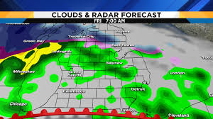 metro detroit weather forecast updating friday's severe