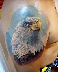 Tattoo Eagle S Významem A Náčrtky 100 Nejlepších Místí Na Fotografii