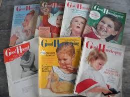Good Housekeeping Advertising Lot Old 1950s Good Housekeeping Magazines Vintage Graphics Advertising