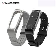 New Youth Edition Mijobs <b>Silicone Wrist Strap</b> with Metal Frame ...