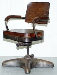 timber office furniture. 1 OF 2 INDUSTRIAL STEEL TANKERS OFFICE CHAIRS RESTORED TIMBER SERIOUSLY COOL Timber Office Furniture