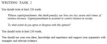 Ielts Writing Task 2 Death Penalty Setyotw