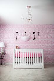 Stylish Fancy Baby Girl Wallpaper Nursery Personalized Customable Plafond  Hangings Luxury Chandeliers Crystal Transparant Glasses