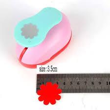 4 Petal Flower Paper Punch 1 5 2 Sun Flower Punch Perforadora De Papel Petal Paper Cutter