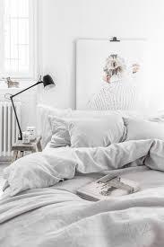 light grey linen duvet cover magiclinen