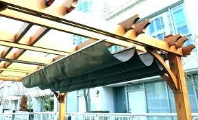 retractable pergola canopy. Pergola Canopy Kit Retractable Cover . U