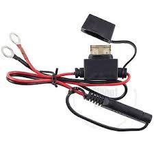 atv utv battery terminal ring connector harness volt charger image is loading atv utv battery terminal ring connector harness 12