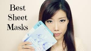 korean sheet masks mask monday best korean hyaluronic sheet masks youtube
