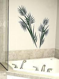 palm tree wall art metal decor tar decal vinyl tropical outdoor full size