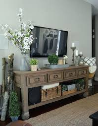 console decor best decorating ideas on regarding designs 0 wall mounted tv voila stand decorative shelving