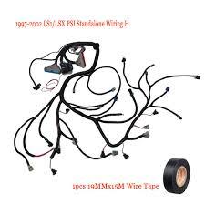 hot 1997 2002 ls1 lsx standalone wiring harness w t56 or non 1997 2002 ls1 lsx standalone wiring harness w t56 or non elec dbc