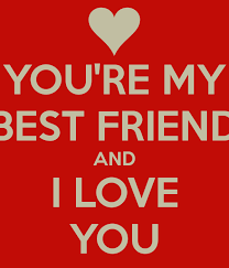 In Love With Your Best Friend Quotes Impressive YOU'RE MY BEST FRIEND AND I LOVE YOU Poster Amira Keep CalmoMatic