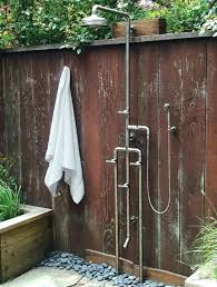 kohler outdoor shower outdoor shower faucets above the forge exposed shower is the most feature loaded of their deck outdoor shower kohler outdoor shower