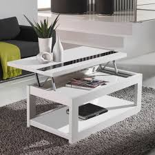 Decoration Table Basse Blanche