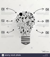Creative Idea In Light Bulb As Inspiration Concept With