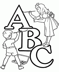 Small Picture Adult coloring pages abc A B C Coloring Pages Az Aierx7xxt Picsbyk