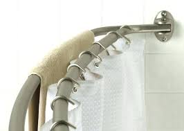 curved double shower curtain rods curved double shower rod double shower curtain rod curved double shower