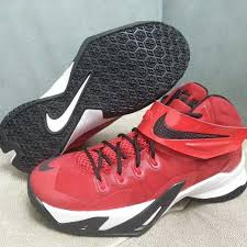 lebron 8 soldier. nike lebron zoom soldier 8 red/black-white (1) lebron o