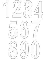 number templates 1 10 number templates 1 10 template clip art famous and dreamswebsite