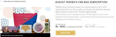 fab bag makeup bo india image
