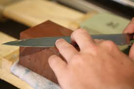 How To Sharpen A Kitchen Knife  I Food BloggerHow To Sharpen Kitchen Knives