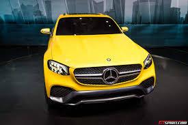 Live Photos of the Mercedes-Benz GLC Coupe Concept