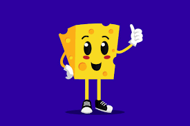 Css & svg waves animation. Cheese Mascot Cartoon Logo And Icon Graphic By Muhammad Rizky Klinsman Creative Fabrica