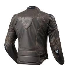sentinel rev it akira vintage leather motorcycle jacket