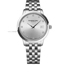 "diamond watches watch shop comâ""¢ ladies raymond weil toccata diamond watch 5388 st 65081"