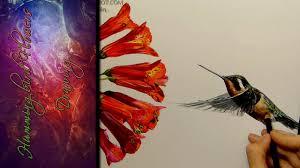hummingbirds and flowers drawing.  Hummingbirds Intended Hummingbirds And Flowers Drawing R
