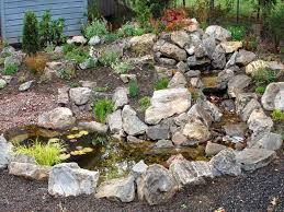 Small Picture Water Feature Rock Garden Designs Pinterest Rock