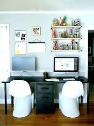 double desks for home office. Corner Double Desk Two Person Home Office Best · « Desks For