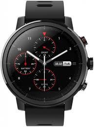 Умные часы (smart watch) <b>Amazfit Stratos Black</b> (A1619): купить ...
