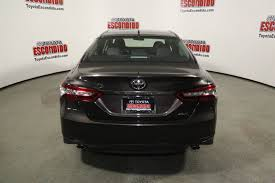 New 2018 Toyota Camry XLE V6 4dr Car in Escondido #1015242 ...