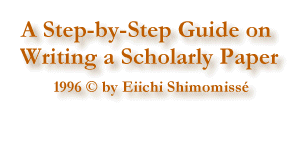 a step by step guide on writing a scholarly paper a step by step guide on writing a scholarly paper by eiichi shimomisse