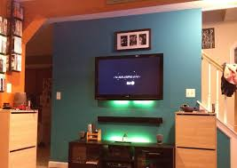 Paint For Living Room With Accent Wall Blue Paint On The Wall Accent Walls In Living Room There Is Big