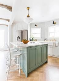 country kitchens with islands. Emily Henderson Frigidaire Kitchen Reveal Waverly English Modern Edited Beams 181 Country Kitchens With Islands O