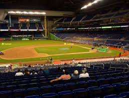 Marlins Stadium Seating Chart Marlins Park Section 21 Seat Views Seatgeek