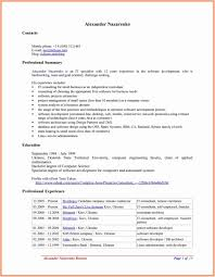 Best Open Office Resume Templates To Download Use For Free Template
