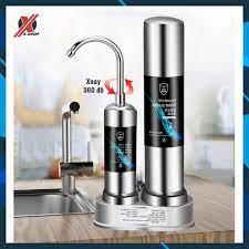 Máy Lọc Nước Tại Vòi Water Purifier - Bộ Lọc Nước 2 Lõi Sứ Than Hoạt Tính  Không Dùng Điện Không Nước Thải JDX tốt giá rẻ