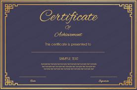Formal Certificates Formal Certificate Under Fontanacountryinn Com