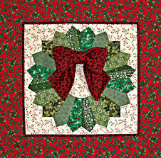 Quilted Holiday Dresden Wreath front | Dresden, Burns and Wreaths & Quilted Holiday Dresden Wreath, 26 x by Vicki Dobbins - My Scraps N More.  Pattern by Eleanor Burns in Egg Money Quilts. 6 5 Newer Older Made using  the ... Adamdwight.com