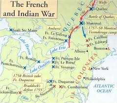 n battles french n war map american n n battles french n war map