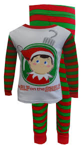 WebUndies.com Christmas is Coming Elf on the Shelf Toddler Pajamas
