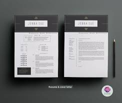 Black White Resume Template Resume Templates On Thehungryjpeg