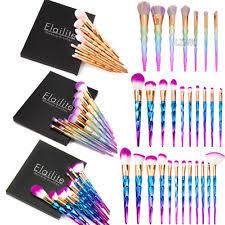 unicorn brush sets. unicorn kabuki makeup brush set cosmetic foundation powder brushes tool purple sets