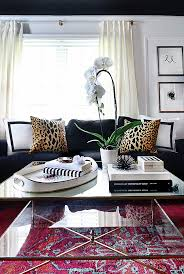 Decorating An Ottoman With Tray Large Tray For Ottoman Styling Ideas Houseology 32