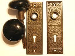 Backyards : Brass Door Knobs Handles Antique Edwardian Style ...