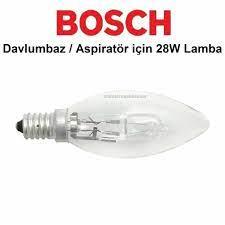 Bosch Davlumbaz Aspiratör için 28W Lamba / Ampul / Işık Fiyatları ve  Özellikleri