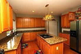 oak cabinets and granite honey oak kitchen cabinets with granite countertops